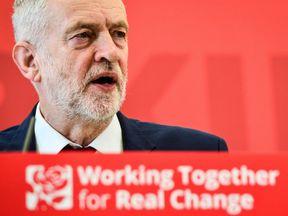 Jeremy Corbyn speaks at the University of Warwick