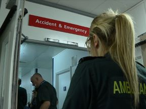 Sky News went to Milton Keynes University Hospital to see how pressure on the service is affecting care