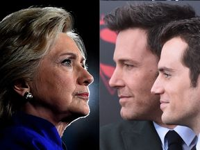 A movie on Hillary Clinton and Batman v Superman topped the Razzie Awards