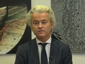 Geert Wilders is leader of Dutch party the PVV