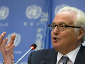 Vitaly Churkin has been Russian ambassador to the UN since 2006