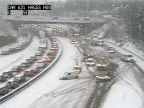 Scotland's busiest motorway the M80
