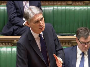"Philip Hammond was accused of sexism after calling Mary Creagh MP ""hysterical"" during Treasury questions"