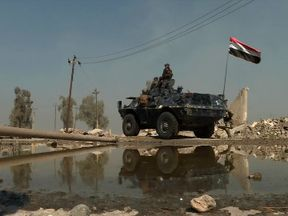 Iraqi troops are on a personal mission of revenge and redemption