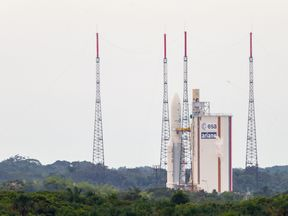 The Ariane 5 rocket has carried Intelsat satellites into space