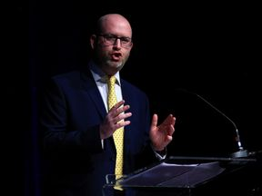 UKIP leader Paul Nuttall speaks at his party's spring conference