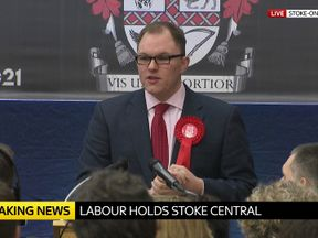 Gareth Snell: Labour has held Stoke-on-Trent Central