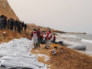 Bodies of dozens of 'abandoned' migrants washed ashore in Libya