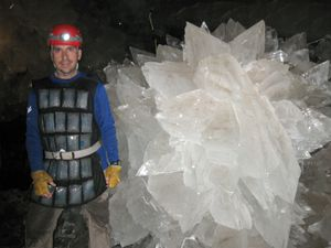 Ancient microbes found trapped in crystals in Mexican cave system