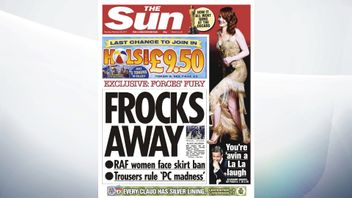 Women in the Royal Air Force face a skirt ban, reports The Sun