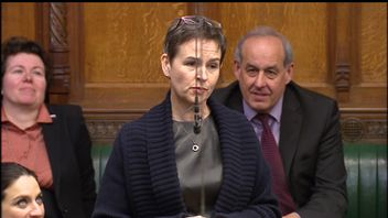 MP Mary Creagh objected to the use of the word 'hysterical' by the Chancellor.