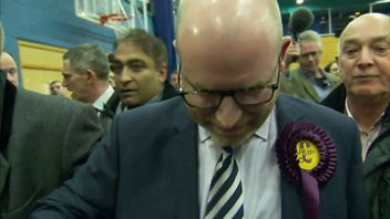 Paul Nuttall vowed to continue working as UKIP leader despite his by-election loss
