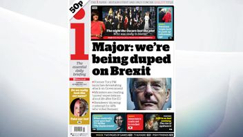 Former Tory PM John Major says ministers are creating unreal expectations around life after Brexit, reports i