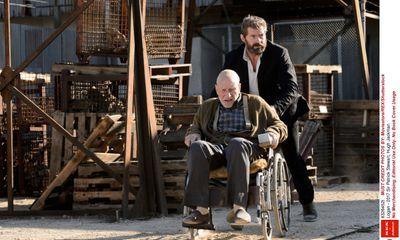 Logan stars Hugh Jackman and Sir Patrick Stewart bid 'au-revoir' to their superhero characters