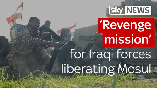 'Revenge mission' for Iraqi forces liberating Mosul
