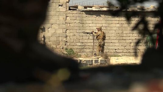 Iraqi forces are battling to retake Mosul from Islamic State