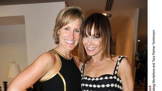 Tara Palmer-Tomkinson and sister Santa Montefiore