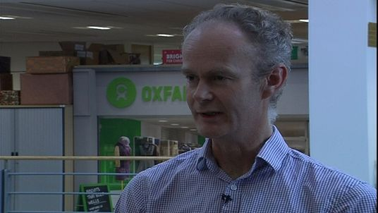 Oxfam's Humanitarian Director, Richard Corbett