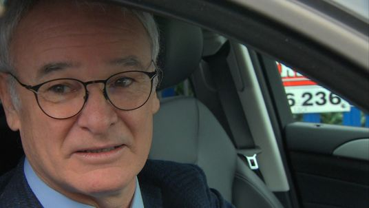 Claudio Ranieri arriving at Leicester City training ground after being sacked