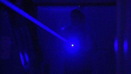 Laser pen user