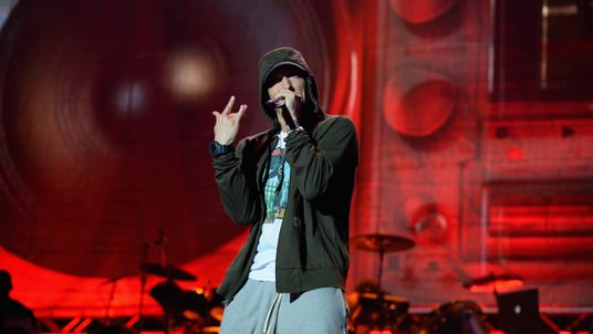 Eminem's latest show was at the 2016 Lollapalooza in Chicago