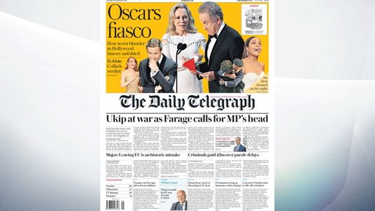 daily telegraph stock market report