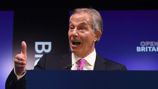 Tony Blair says the Brexit debate must be allowed to continue