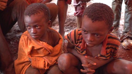 Young children mine cobalt for smartphones