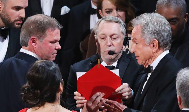 Oscars mix-up: La La Land envelopegate overshadows anti-Trump protests