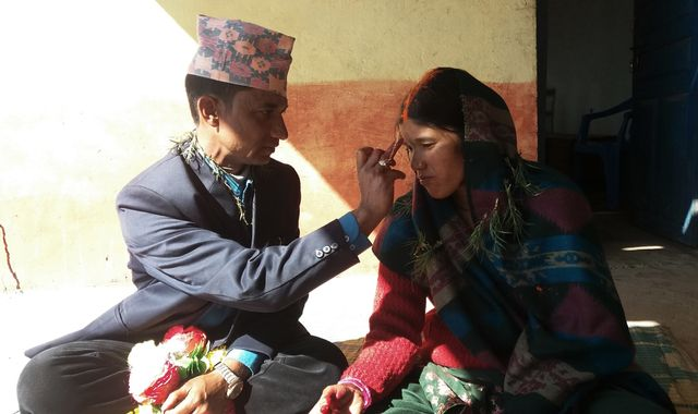 Killers who murdered their partners get married in Nepal jail