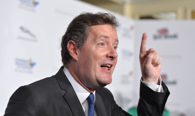 Piers Morgan pulls out of hosting RTS Awards over 'silly' campaign