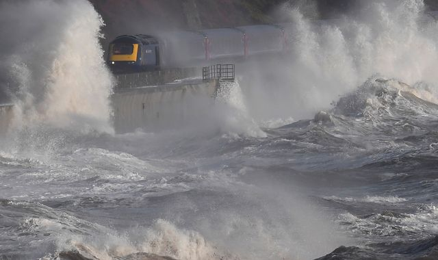 Storm Doris to batter much of UK with 80mph gusts