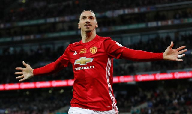 Ibrahimovic scores Man Utd's winner in League Cup final