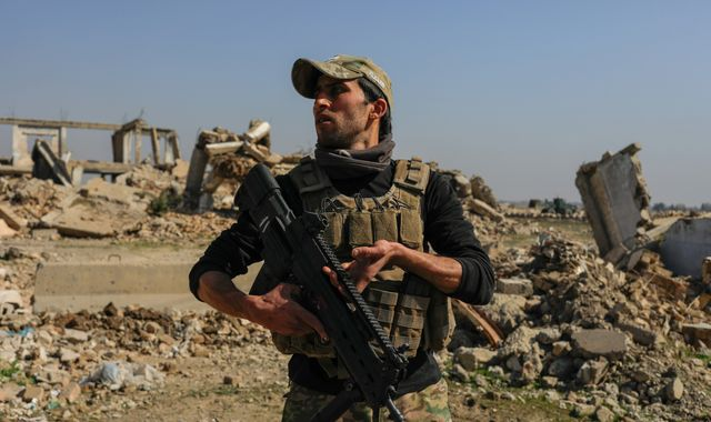 On the front line at Mosul airport as Iraqi forces fight Islamic State