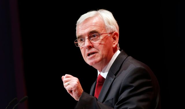 John McDonnell urges Labour unity after Copeland defeat