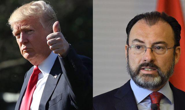 Mexico threatens trade war over Donald Trump's wall tax