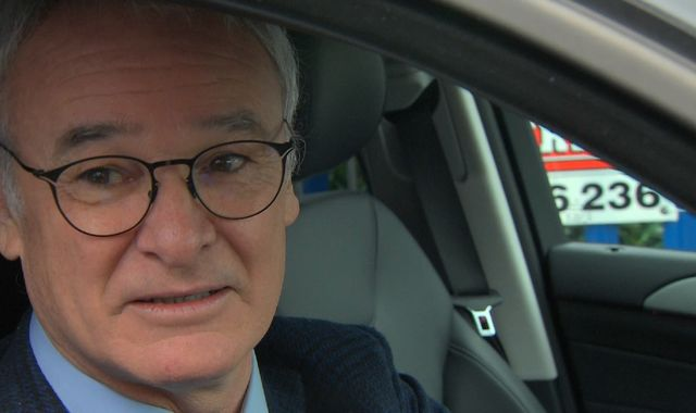 Claudio Ranieri bids final farewell to Leicester staff and players