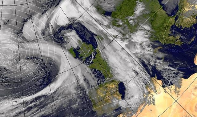 Woman dies as Storm Doris wreaks chaos across UK
