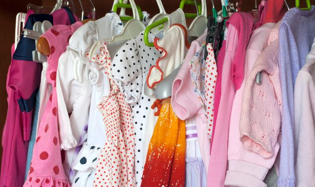 Seven in 10 parents still have baby clothes their kids have outgrown