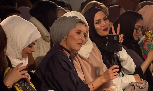First ever 'modest' fashion show suitable for Muslims held in London