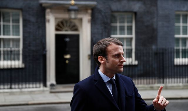 French frontrunner Macron wants UK talent to move to  France after Brexit