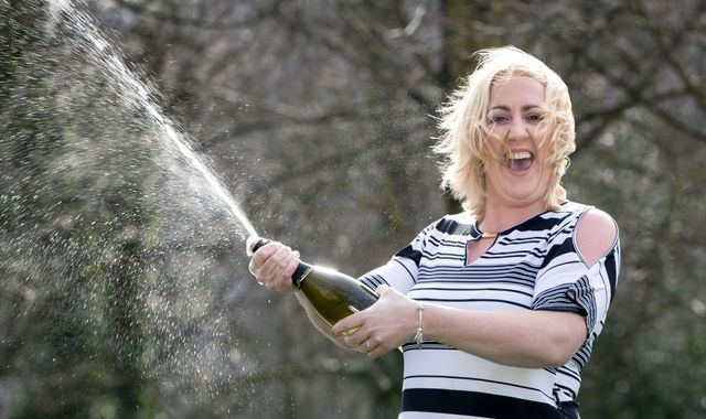 Single mum on £400-a-week benefits scoops £14.5m on EuroMillions