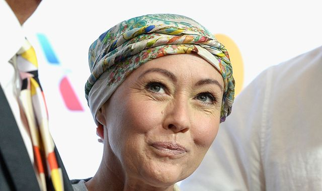 Actress Shannen Doherty finishes chemotherapy and begins 'waiting game'