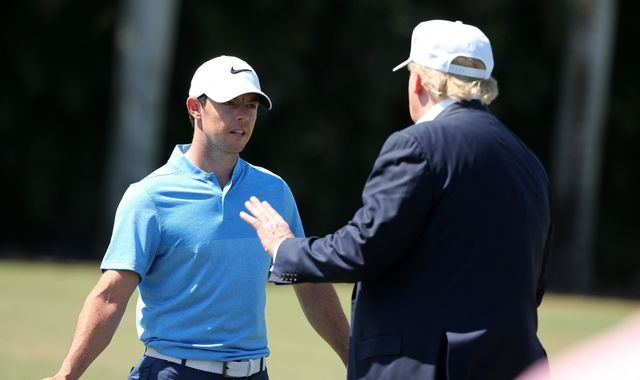 Rory McIlroy says game of golf with Donald Trump not 'an endorsement'