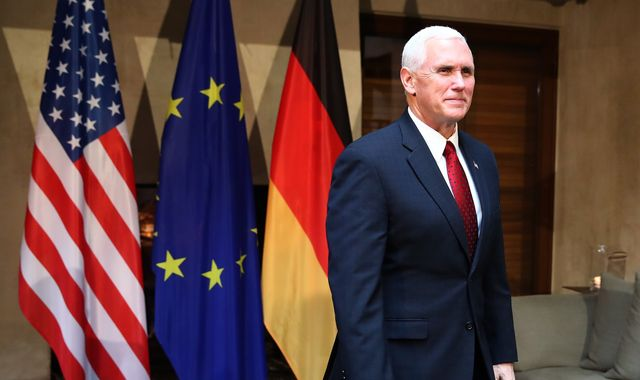 Welcome words on NATO from Mike Pence, but is he genuine?