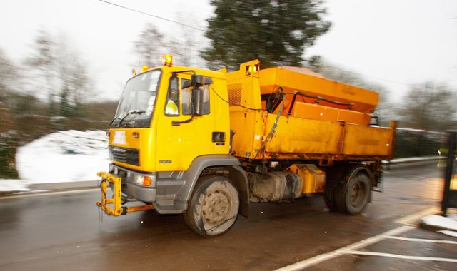 Police officer commandeers gritter lorry to find missing boy