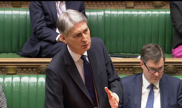 Chancellor accused of sexism after telling female MP not to be 'hysterical'
