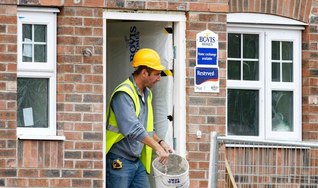 House builder Bovis sees shares plunge after profits slide