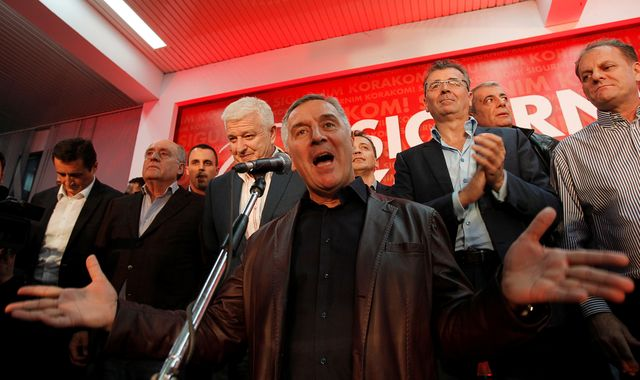 Russia 'linked' to election-day coup plot in Montenegro