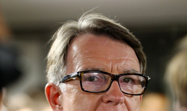 Lord Mandelson says House of Lords 'shouldn't throw in towel' on Brexit